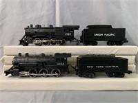 2 MTH RailKing Steam Locomotives