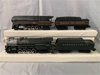 2 MTH RailKing Steam Locomotives