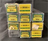 11 Boxed Minitrix N Ga Passenger Cars