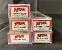 5 Boxed Atlas N Ga Diesels