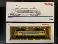 2 Marklin HO Electric Locomotives