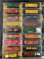 38 Assorted N Gauge Freight Cars