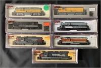 7 Boxed Atlas N Ga Diesels
