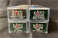 4 Boxed Kato N Ga Diesels