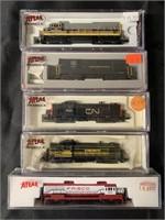 4 Rapido N Ga Steam Locomotives