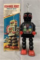 High Wheel Robot. Boxed.
