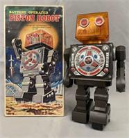 Battery Operated Piston Robot.