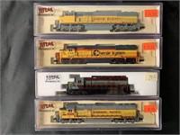 4 Boxed Atlas N Ga Diesels