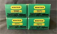 4 Boxed Minitrix 2970 PRR K5 Pacific Locos