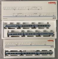 2 Sets Marklin HO InterCity Passenger Cars