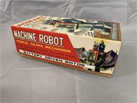 Machine Robot in Box. Japan Battery Operated