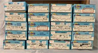 20 Boxed Athearn HO Freight Car Kits, some Assembl