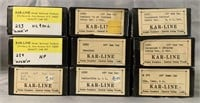21 Boxed Kar-Line HO Freight Car Kits