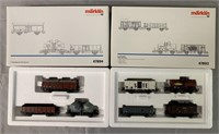 5 Marklin HO HAMO Freight Car Sets