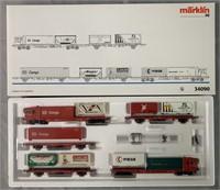 Marklin HO 34090 DB Cargo Container Transport Set