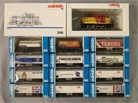 13pc Marklin HO Diesel Freight Train