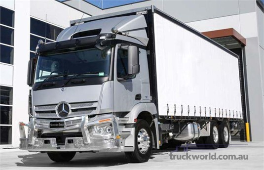 Mercedes Benz Actros 2635 6x4 Rigid