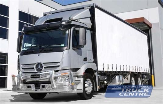 Mercedes Benz Actros 2635 6x4 Rigid