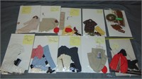 (10) Vintage Ken Doll Clothing Outfits