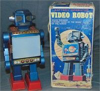 Boxed Japan Video Robot Battery Toy