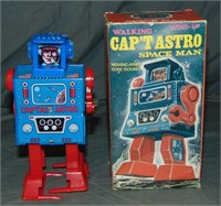 Boxed Japan Cap'T Astro Spaceman