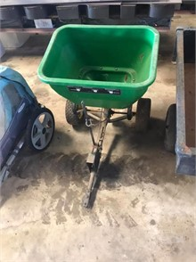 Homemade Pull Behind Mower Seeder Fertilizer Spreader For
