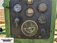 1957 John Deere 620, Narrow Front, Power Steering,