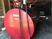 2000 gal diesel barrel with Fill-Rite pump