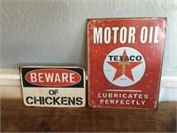 Decorative Metal Signs