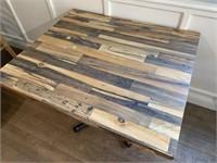Multi-Wood Dining Table