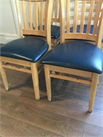 4-Padded Restaurant Dining Chairs