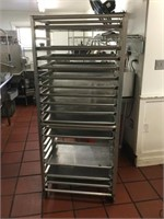 Bakers Rack with Trays