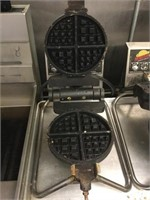 Golden Malted Industrial Waffle Iron
