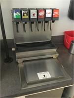 Complete Soda Machine with Compressor/Sodas