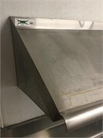 Stainless Steel Over the Counter Rack