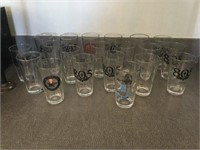 Qty of Beer Glasses