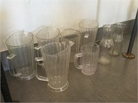 Qty of Water Pitchers/Glasses