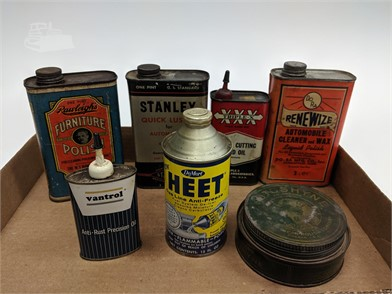 Lot Of Gas And Oil Advertising Cans Rawleighs Other Items