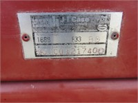 Case International 1688 Axial Flow Combine