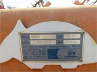 22' Tatu Hydraulic Wheel Disc