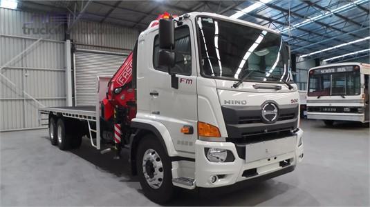 2019 Hino 500 Series 2628 FM 6x4|Crane Truck
