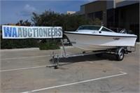 1978 Northshore 160 15ft Boat & Trailer