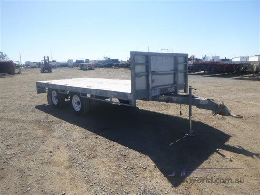 2018 Homemade Flat Top Trailer - Trailers for Sale