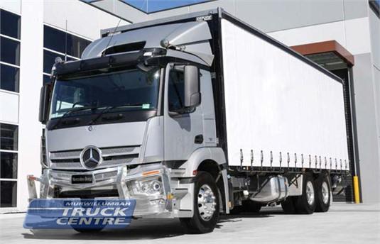 Mercedes Benz Actros 2640 6x4 Rigid
