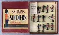 Britains. Pipes & Drums Irish Guards #2096. Boxed.