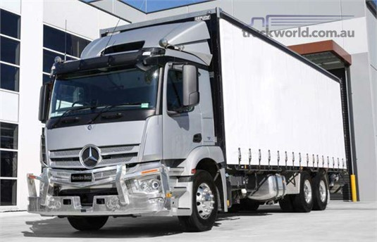 Mercedes Benz Actros 2643 6x4 Rigid