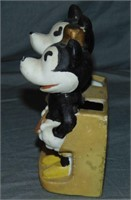 1930's Mickey & Minnie Mouse Toothbrush Holder