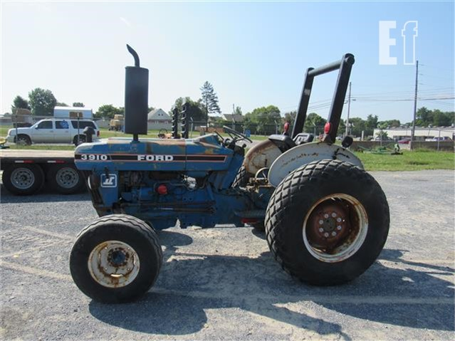 Equipmentfacts Com Ford 3910 Online Auctions