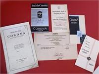 Corona Type Writer Type #3