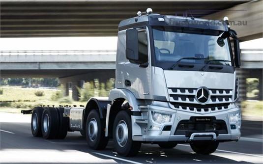 Mercedes Benz Arocs 3235 8x4 Rigid
